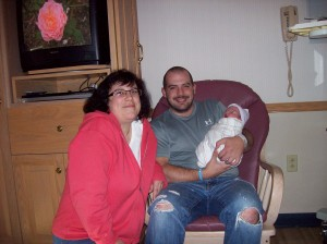 My wife, Tina, My son Michael and our grandson, Noah
